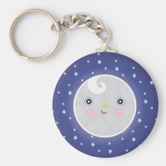 Moon Man Keychain