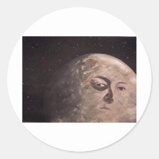 Moon Man Stickers