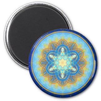 Moon Mandala Magnet