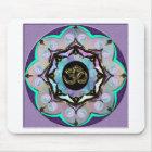Moon Mandala Mouse Pad