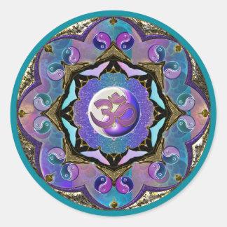 Moon Mandala Sticker