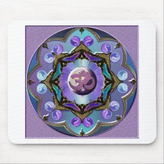 Moon Mandala Variation Mouse Pad