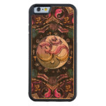 Moon Mandala Wood iPhone 6 Case Carved® Cherry iPhone 6 Bumper Case
