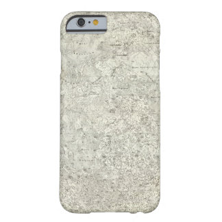 Moon Map Barely There iPhone 6 Case