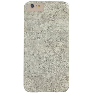 Moon Map Barely There iPhone 6 Plus Case