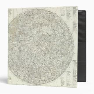 Moon Map Binder