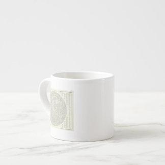 Moon Map Espresso Cup