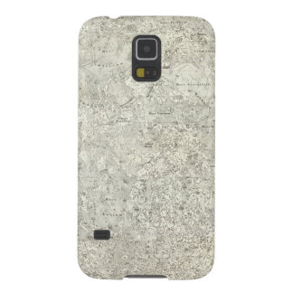 Moon Map Galaxy S5 Cover