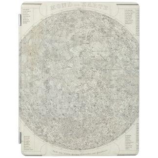 Moon Map iPad Smart Cover