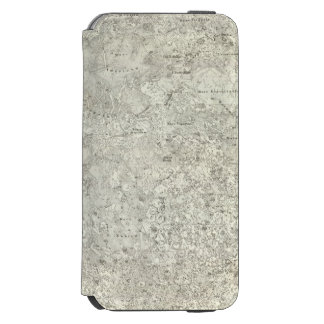 Moon Map iPhone 6/6s Wallet Case