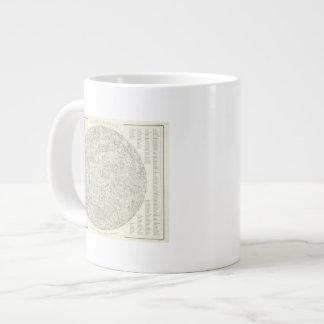 Moon Map Large Coffee Mug