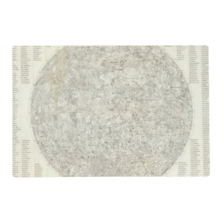 Moon Map Placemat