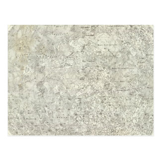 Moon Map Postcard