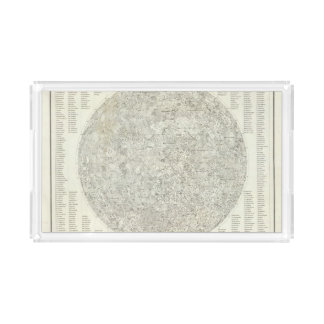 Moon Map Serving Tray
