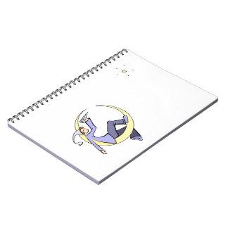 Moon Messenger Notebook