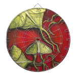 Moon Moths Dart Board