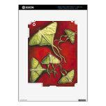 Moon Moths iPad 3 Skins