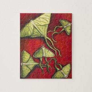 Moon Moths Jigsaw Puzzle