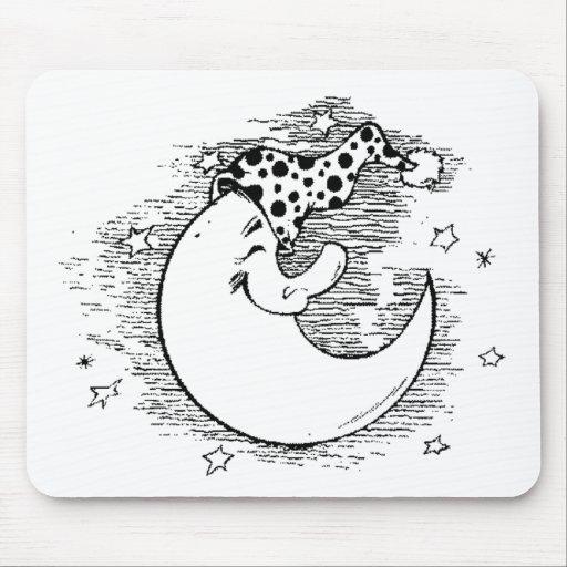 Moon Mouse Mats