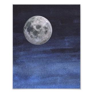 Moon Nigh Sky Print