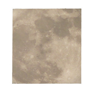 Moon Notepad Full Moon Notepads Fun Moon Gifts
