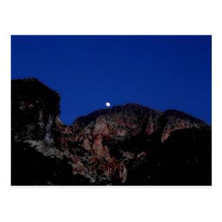 Moon on the Mountain Postcard