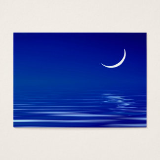 Moon on the water business card