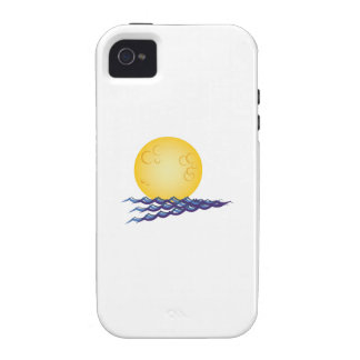 Moon On Water iPhone 4 Cover