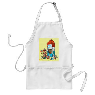 Moon or Bust! Adult Apron