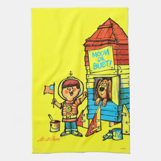 Moon or Bust! Hand Towels