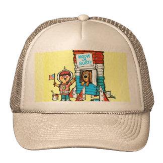 Moon or Bust! Trucker Hat
