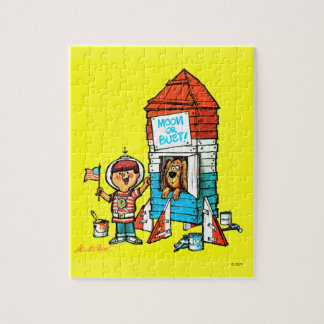 Moon or Bust! Jigsaw Puzzle
