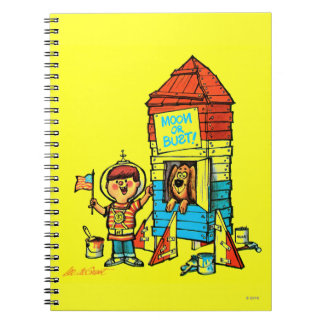 Moon or Bust! Notebook