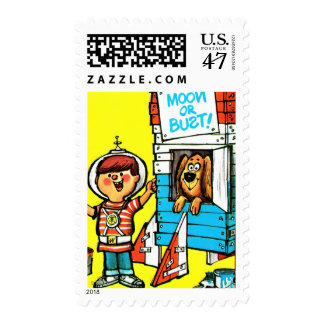 Moon or Bust! Postage