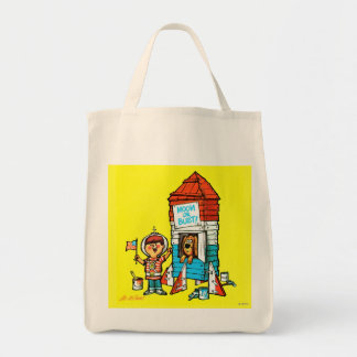 Moon or Bust! Tote Bag