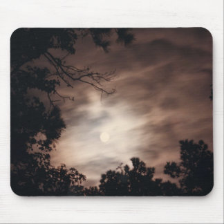 Moon over Charleston Mouse Pad