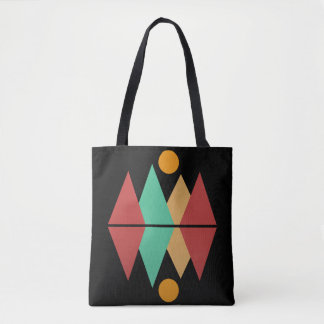 Moon Over Four Peaks #1 Tote Bag