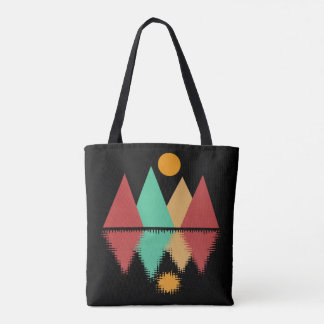 Moon Over Four Peaks #2 Tote Bag