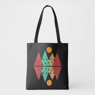 Moon Over Four Peaks #3 Tote Bag