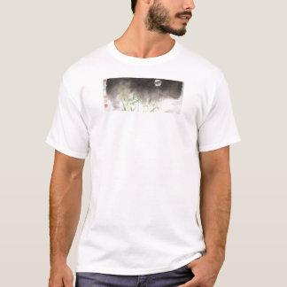 Moon Over Grass Mens Unisex T Shirt