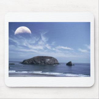 Moon over Haystack Mouse Pad
