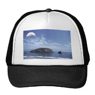Moon over Haystack Trucker Hat
