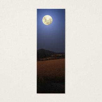 Moon over maize mini bookmark mini business card