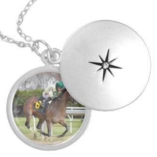 Moon Over Miami - Junior Alvarado Locket Necklace