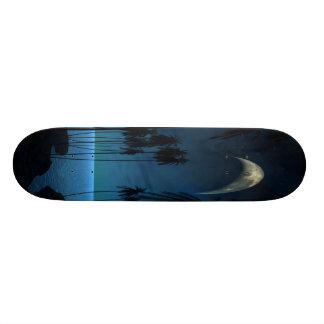 Moon Over Miami Skateboard