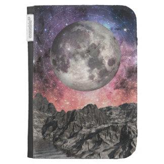 Moon Over Mountain Lake Kindle Keyboard Case
