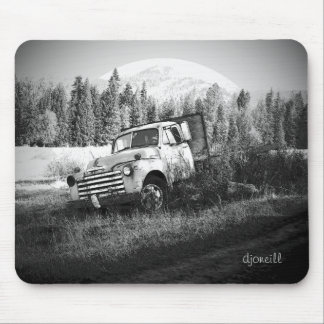 Moon Over Rust by djoneill Mouse Pad
