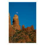 Moon Over Snoopy Rock 3946 Poster