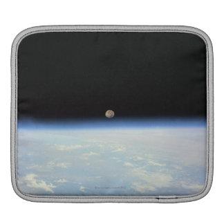 Moon Over the Earth iPad Sleeve