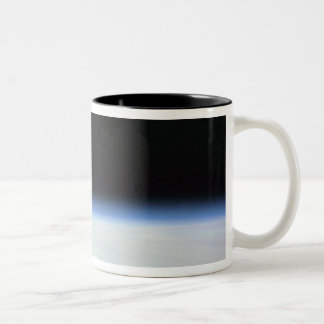 Moon Over the Earth Two-Tone Coffee Mug